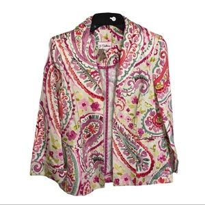BRAND NEW 3 SISTERS COLORFUL JACKET SZ S